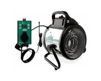 Umluftheizung 2000 W mit Digitalthermostat