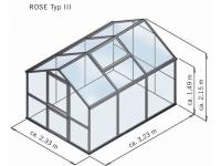 Gewächshaus Rose Typ lll