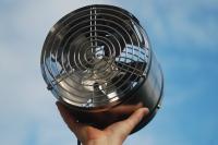 Ventilator für das Gewächshaus