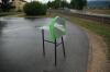 Grünzeug-Häcksler mit Handantrieb ohne Unterbau